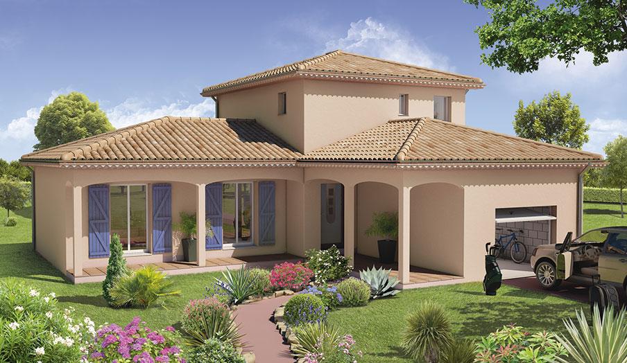 Notre maison avec demeures d 39 occitanie d tails de la maison for Model de villa moderne